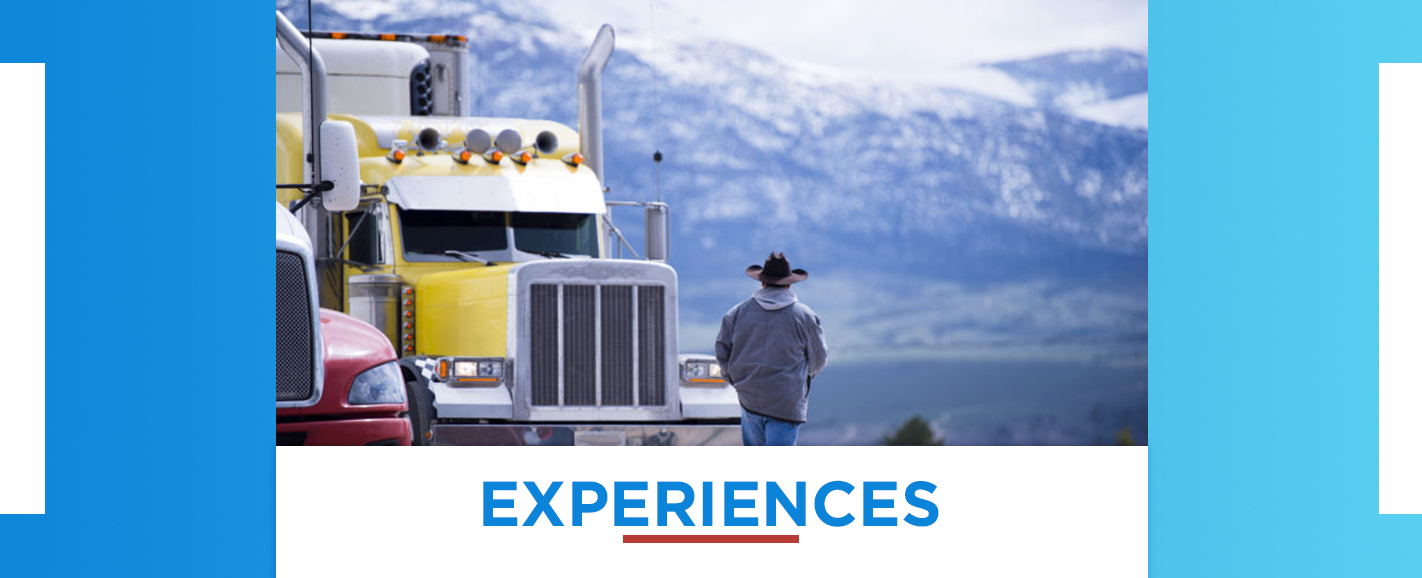 Truck Driving Experiences