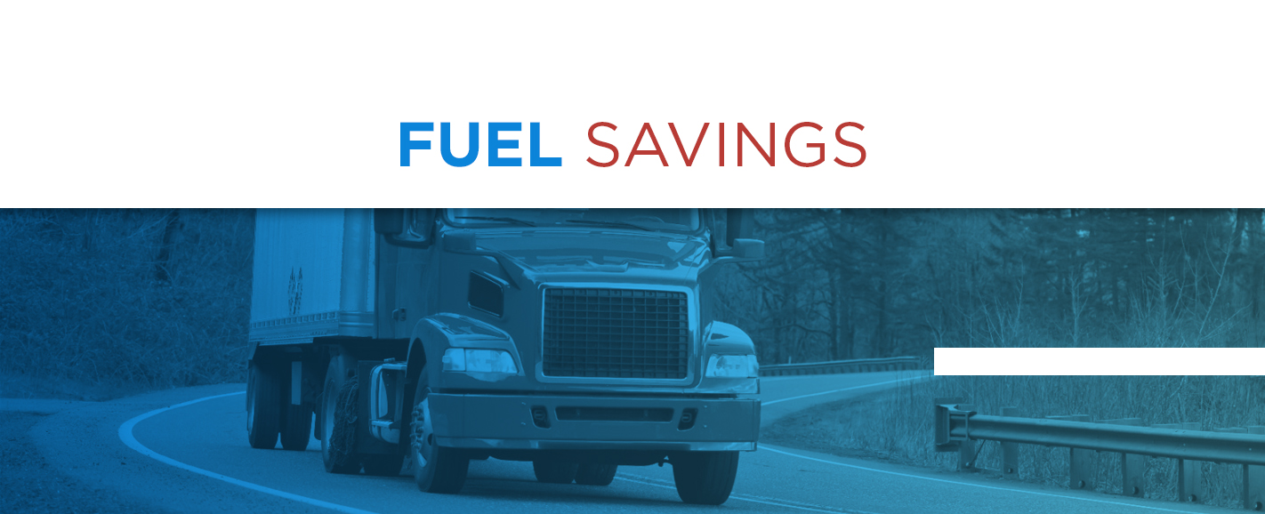 Truck Drivers experience fuel savings